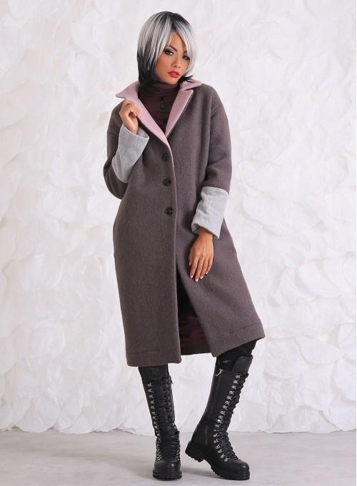 """Вълнено палто """"Colors"""""""