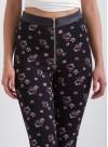 """Клин-панталон """"Floretta"""" с висока талия и кожен колан - 8"""
