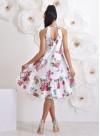 """Асиметрична рокля """"Gardenia"""" с ефектен гръб - 5"""