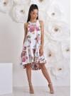"""Асиметрична рокля """"Gardenia"""" с ефектен гръб - 3"""