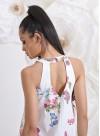 """Асиметрична рокля """"Gardenia"""" с ефектен гръб - 6"""