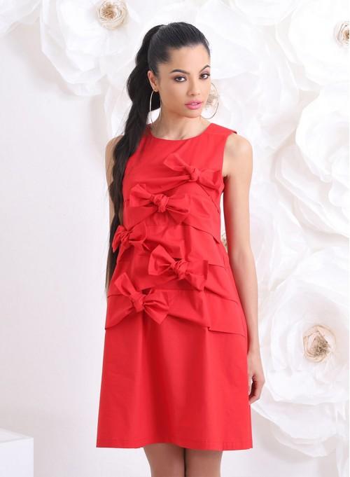 """Рокля """"Wild Dress"""" в червено"""