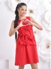 """Рокля """"Wild Dress"""" в червено - 5"""
