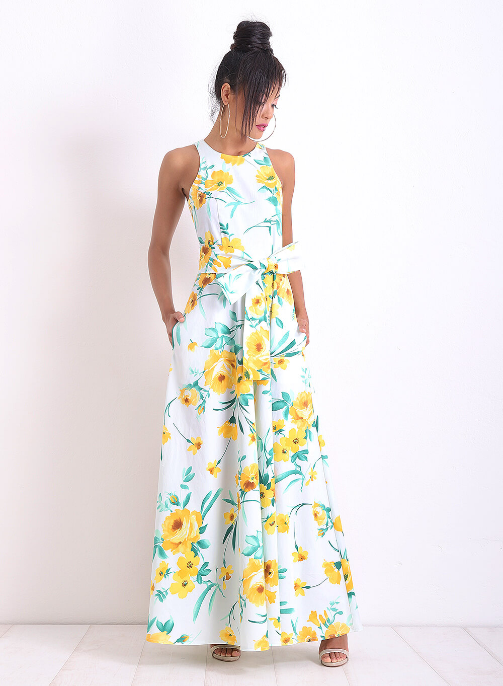 "Дълга рокля ""SunnyFlower"""