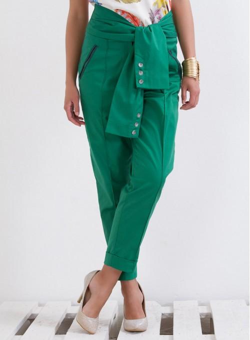 """Панталон """"Green City"""" с интересен колан"""
