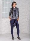 """Панталон """"Blue vision"""" с интересно прехвърляне - 4"""