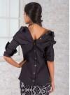 "Екстравагантна риза ""Grazzia"" с предно и задно закопчаване - 2"