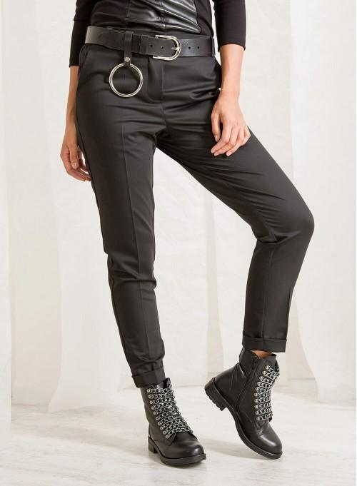 "Панталон ""Noir"" с еластична талия"